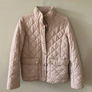 Cream quilted Coat
